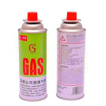 220g-250g butane gas wholesale Butane Refill 220g Fuel Gas Can Cartridge for Camping Portable Stove