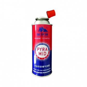 Portable camping butane gas canister manufacturing for camping stove
