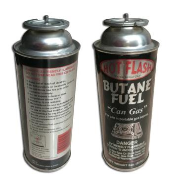 227g Round Shape Portable butane gas cartridge and butane gas canister for portable gas stove