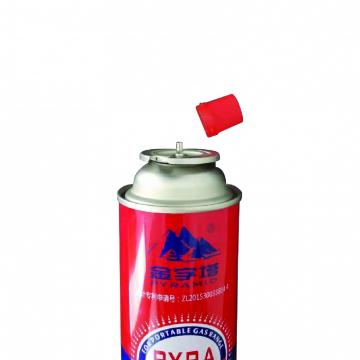 Industrial portable Straight Wall Aerosol Tinplate Can Butane Gas Container