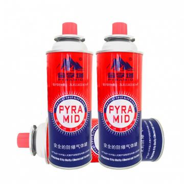 MSDS ISO Empty camping gas can butane gas canister gas container