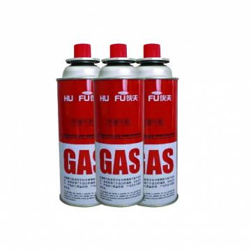 Butane Gas Aerosol Spray Wholesale Portable Aluminum Butane Gas Cartridge for Portable Gas Stove
