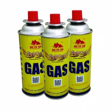 Butane refill fuel Gas Can Cartridge for Camping Portable Stove Gas Ranges 8oz For portable gas stoves
