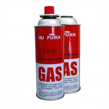 Butane gas Cartridge and Camping Gas Canister for portable gas