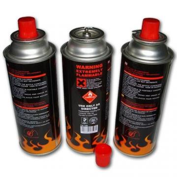 Camping Round Shape Portable butane gas cartridge and butane gas canister