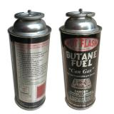 Eco-friendly Disposable empty butane tin can for portable gas stove